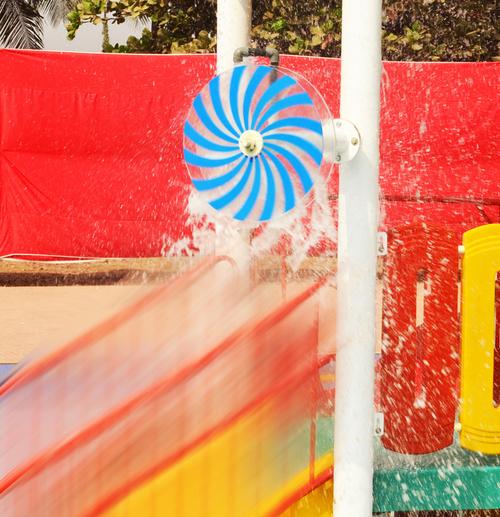 Rotating Wheel Water Sprinkler