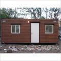 Wooden Textured Porta Cabins