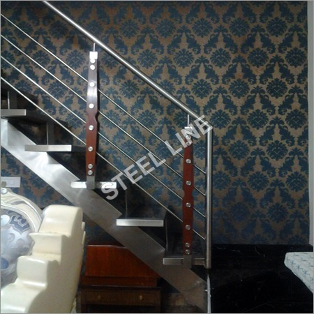 SS Staircase with Railing