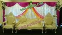 Mehandi Event Stage Furniture