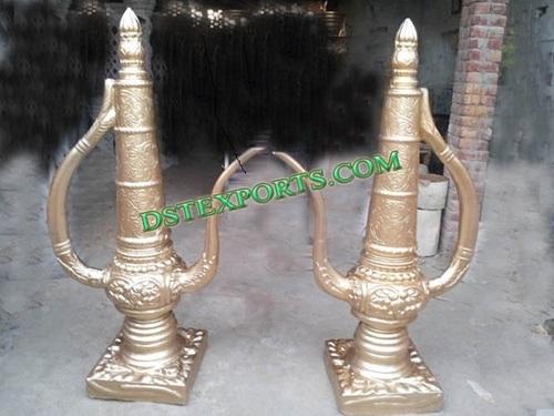 Indian Wedding Golden Cattle Decors