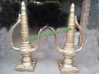 Indian Wedding Golden Cattle Decors