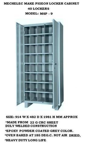 Pigeon Locker Cabinet
