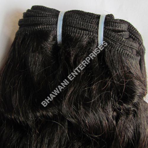 Machined Hair Weft