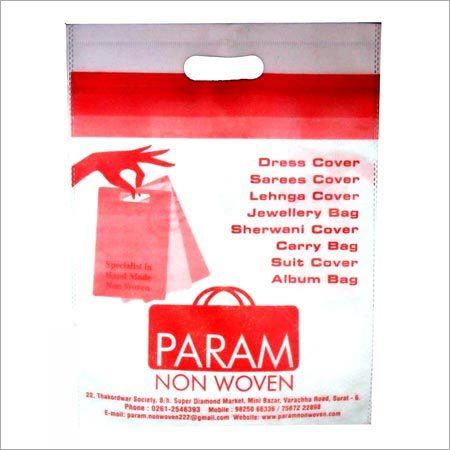 4807b7bab5 D Cut Non Woven Bags - PARAM NON WOVEN