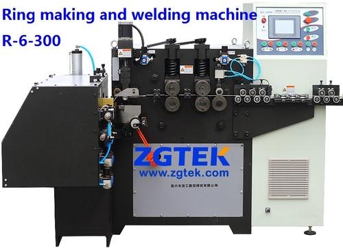 Automatic Ring Making & Welding Machine