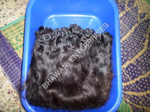 Natural Machine Weft Hair