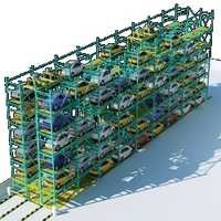 Automatic Multilevel Car Parking System