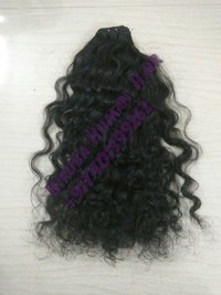 Deep Curly Weft Hairs