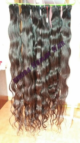 Natural Wavy Long Weft Hair