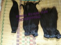 Straight Machine Weft Hair