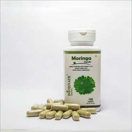 Moringa Leaves Powder Capsules (Organic)