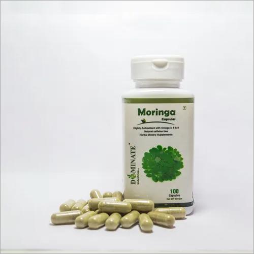 Moringa Leaves Powder Capsules (Organic)