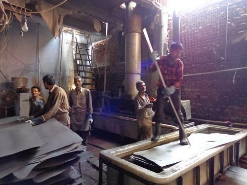 Sistema di controllo acido del vapore per le industrie di marinatura