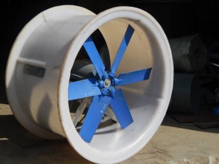 Ventilatori assiali resistenti agli acidi