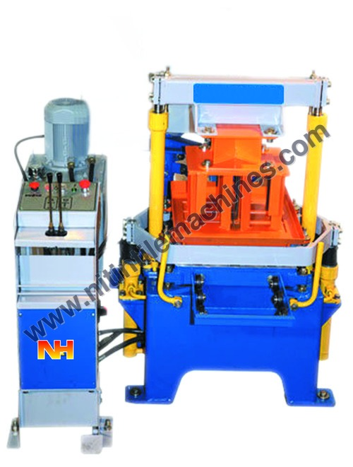 Egg Laying Type Concrete Block Making Machine