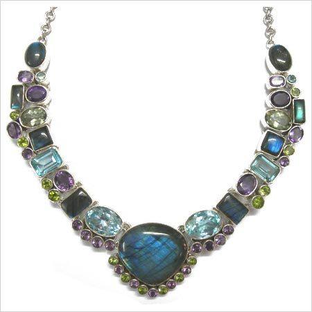Artificial Designer Stone Necklace