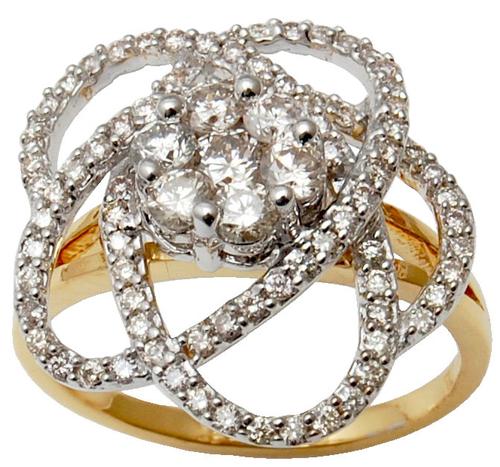 Diamond Wedding Ring  For Women, 14K Gold Diamond