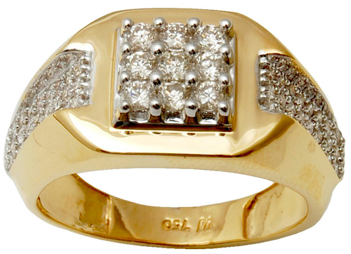 Mens Jewelry  Diamond Gold Rings Online Supplier