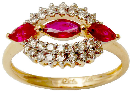Handmade Gold  Jewelry Wholesaler, Diamond Ruby