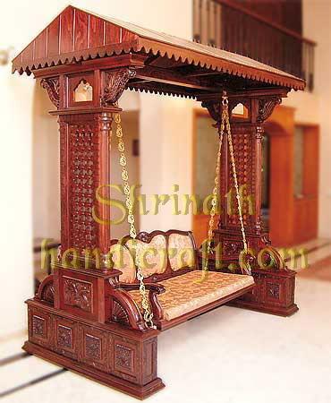 Indian Box Pillar Swing