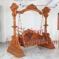 Heavy Carved Pillar Swing