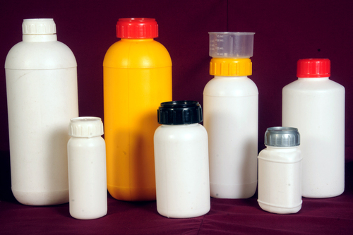 Insecticide & Fungicide Bottles