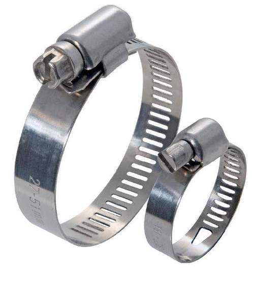 S. S. Hose Clamps