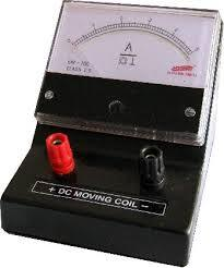 Triple Range Moving Coil Meter