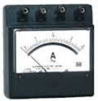 Moving Coil Portable Ammeters And Voltmeter DC