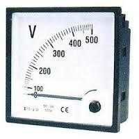 AC Portable Voltmeter And Ammeter