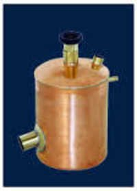 Steam Heater Copper Cylindrical