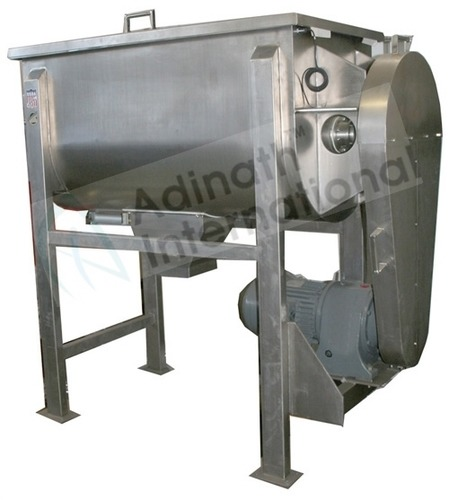 Horizontal Ribbon Blendor Mixer