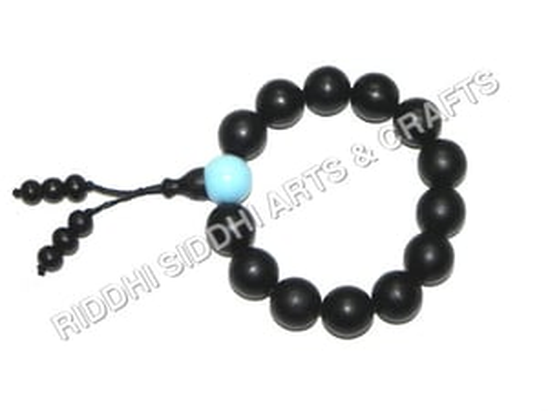 Ebony Wood Rosary Bracelet