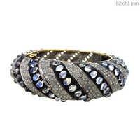 Moonstone Diamond Bangle Jewelry