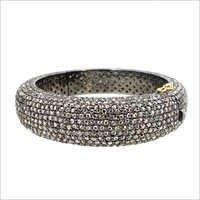 Pave Diamond Bangles Jewelry