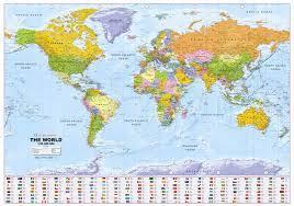 Maps Printed On Polyart