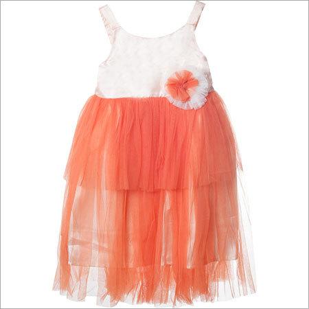 Aomi Girls Layered Dress