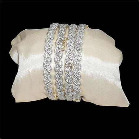 Sparkling American Diamond Bangle