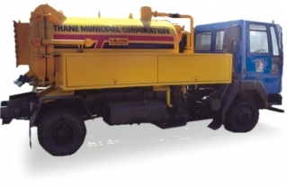 KAMVAC Trailer Mounted - Suction Machine