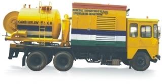 KAMVAC HI FLO - Deep Sewer Suction Jetting Machine