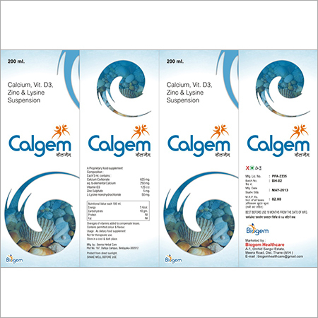 Calgem Suspension