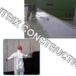 Retaining Wall Bituminous Emulsion Coating Services