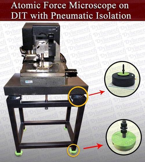 High Frequency Vibration Damping Tables for Microscopes