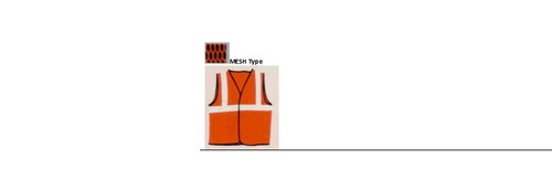 "Safety Jacket MESH type (Net Type) with 1"" Reflect"
