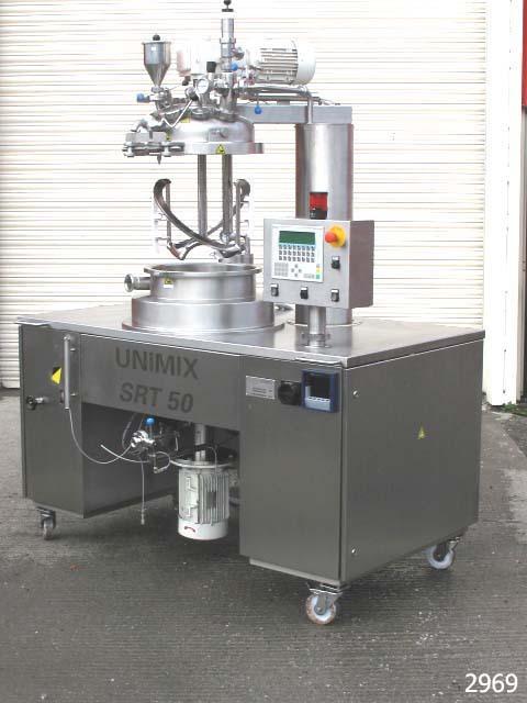 Unimix SRT50 Process Vessel