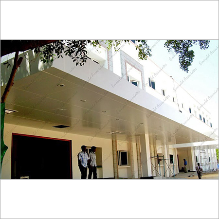 Commercial ACP Cladding Work