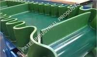 PVC Conveyor Belt with Side Wall / Cleats