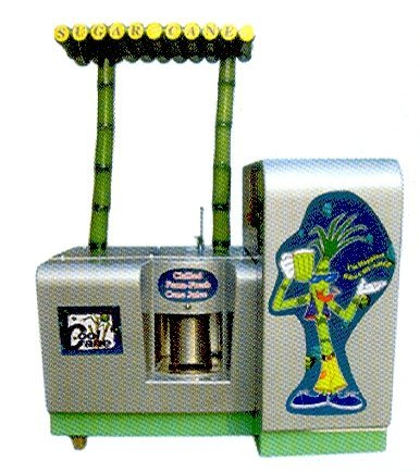 SUGARCANE JUICE EXTRACTOR WITH CHILLER