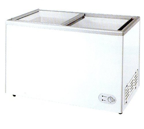 GLASS TOP CHEST FREEZER